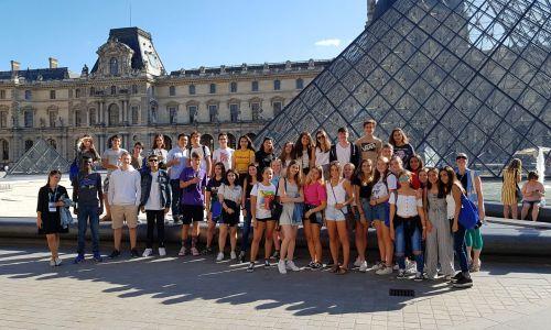 Año Escolar en Francia - el grupo de estudiantes de intercambio en Francia