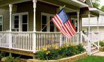 Campamento americano en New Hampshire