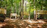 Campamento americano en New Hampshire - actividades juntos